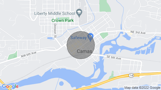 This Apartment is a 1 Bedroom, 1.5 Bathrooms, Located in Camas, WA Map