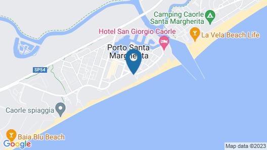 Hotel Oliver Map