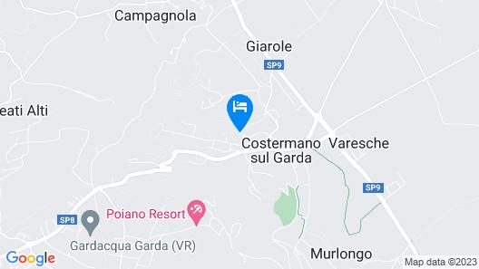 La Filanda Villaggio Albergo Map