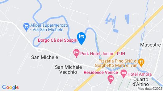 Borgo ca' dei Sospiri Map