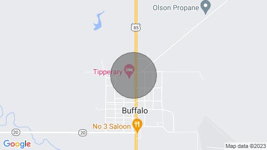 Harding County Hideaway Map