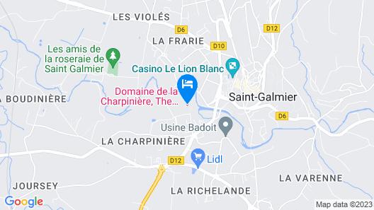 Domaine la Charpinière, The Originals Collection Map
