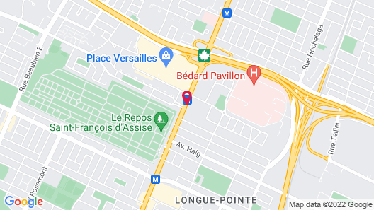 Auberge Royal Versailles Map