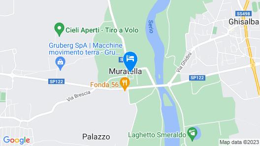 Antico Borgo La Muratella Map