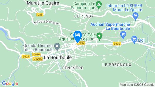 Hôtel Restaurant Au Val Doré Map