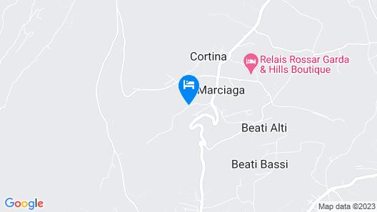 Villa Ghiandare Map