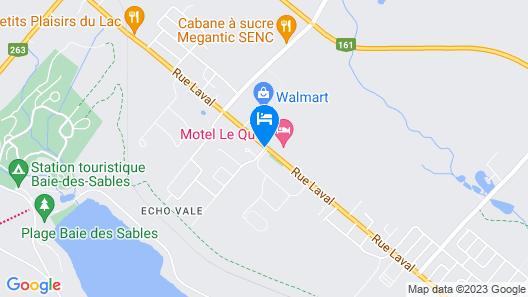 Hotel Motel Le Quiet Map
