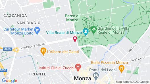 Thea Monza Map
