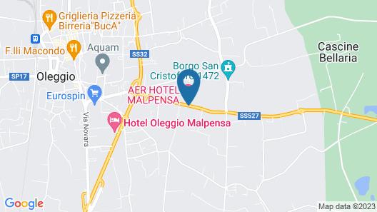 Aer Hotel Malpensa Map