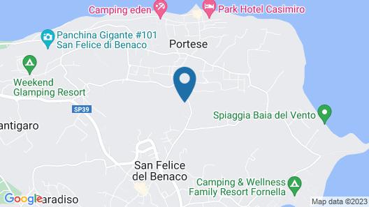 Hotel Villa Luisa Resort & Spa Map