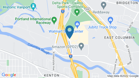 Best Western Inn At The Meadows Map