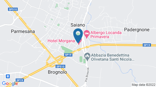 Hotel Morgana Map