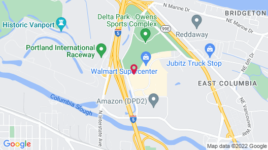 Country Inn & Suites by Radisson, Portland Delta Park, OR Map
