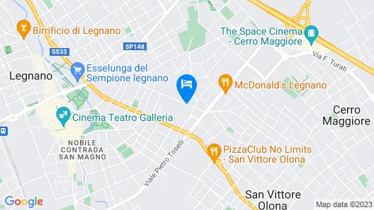 Hotel 2C Map