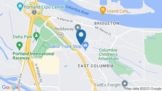Portlander Inn and Marketplace Map
