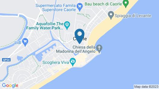 Hotel Esperia Map