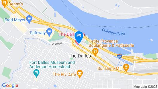 The Dalles Inn Map