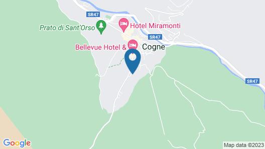 Hotel Madonnina Del Gran Paradi Map