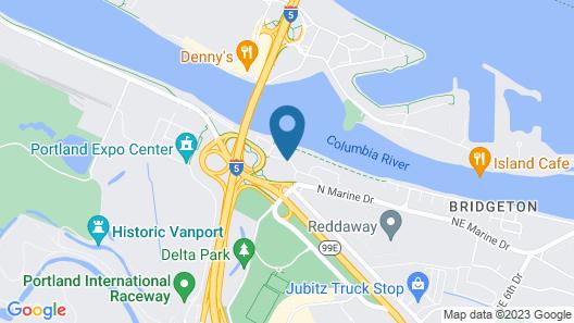 Fairfield Inn & Suites by Marriott Portland North Map