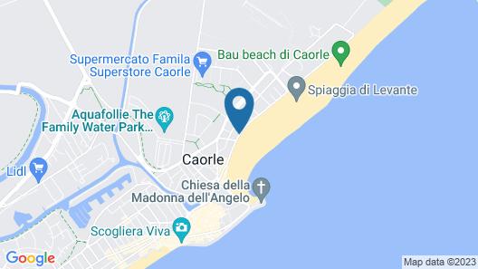 Aparthotel Villa Olga Map