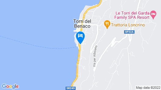 Residence Ca' del Lago Map