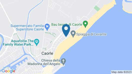 Marina Palace Hotel Map