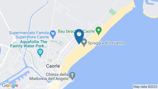 Hotel Levante Map