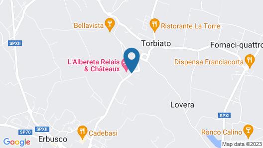 L'Albereta, Relais & Chateaux Map