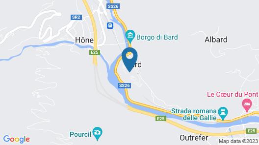 Hotel Cavour et des Officiers Map