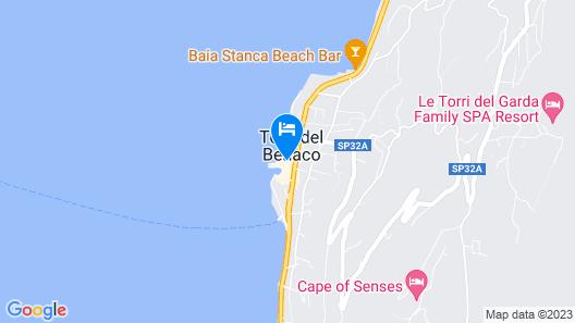 Hotel del Porto Map