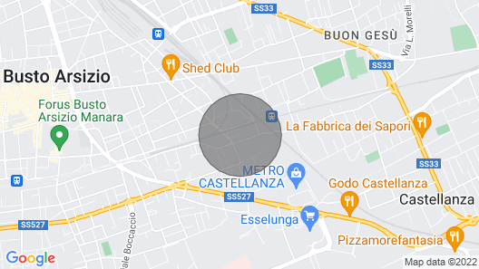 Strategic Loft Studio Near Malpensa Map