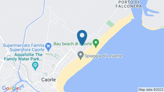 Fantinello Hotel Map