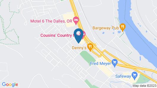 Fairfield Inn & Suites The Dalles Map
