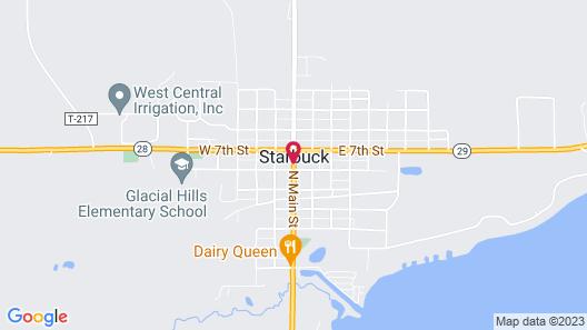 Lakes Area Inn Map