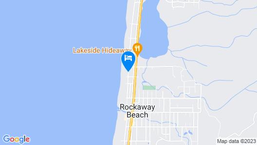 Tradewinds Motel Map