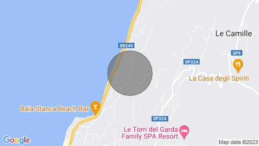 Villa Retrò Alle Rossone With Lake View Map
