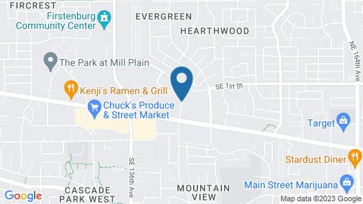 Hampton Inn & Suites Portland/Vancouver Map