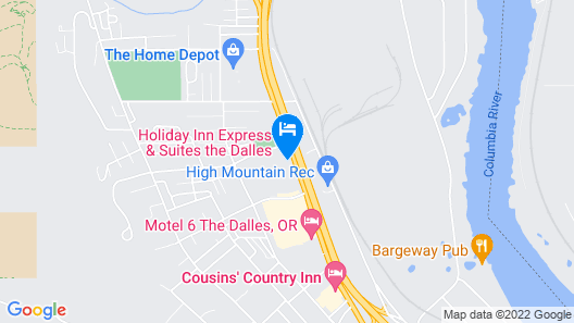 Holiday Inn Express & Suites The Dalles, an IHG Hotel Map