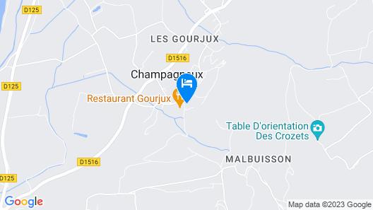 Hotel Restaurant Les Bergeronnettes Map