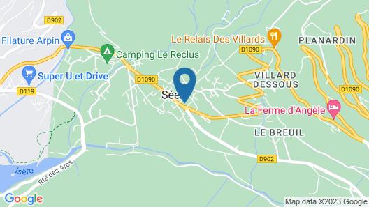 Hôtel Le Malgovert Map