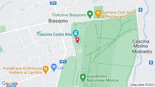 Ostello Costa Alta Map