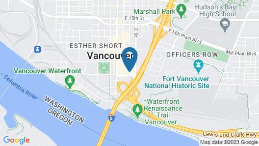 Econo Lodge Vancouver Map