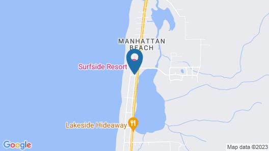 Surfside Oceanfront Resort Map