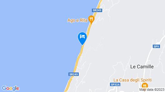 Hotel La Fraderiana Map