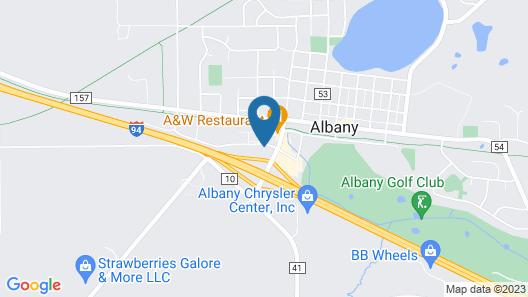 Baymont by Wyndham Albany Map