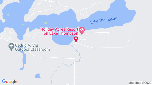Holiday Acres Resort Map