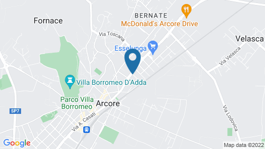 Best Western Plus BorgoLecco Hotel Map