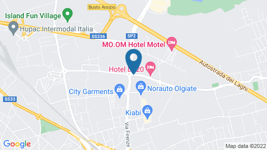 Hotel D120 Map