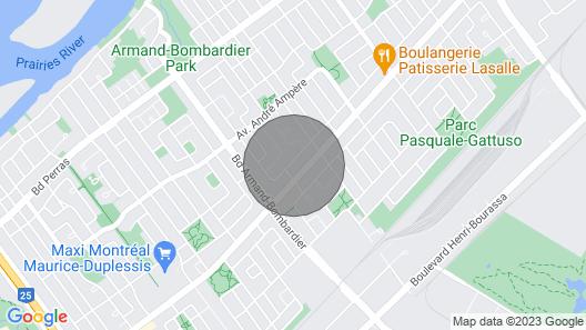 LA MAISON DU BONHEUR À MONTRÉAL /16 PEOPLE/ WIFI ILLIMITÉ / PARKING Map