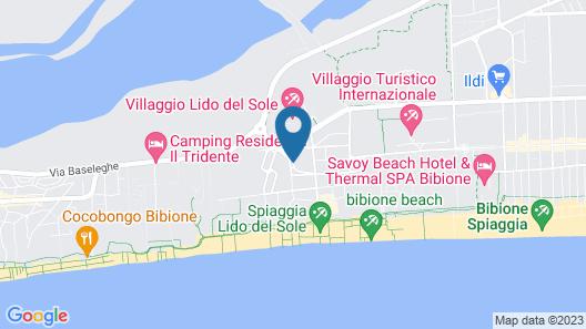 Hotel Alemagna Map